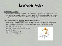 lord of the flies introduction      leadership stylesautocratic