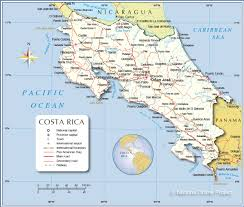 map of costa rica ile ilgili görsel sonucu map of costa rica