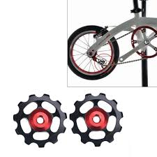 <b>1Pcs</b> Fashion Portable <b>Bicycle Rear Derailleur</b> Pulley Alloy 11T ...