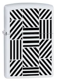 <b>Зажигалка ZIPPO 214 Abstract</b> с покрытием White Matte - купить в ...