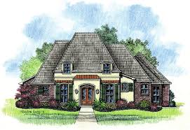 Adele   Country French Home Plans Louisiana House PlansAdele   Country French Home Plans Louisiana House Plans