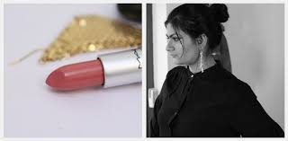 <b>MAC Fanfare</b> Lipstick Review, Swatch, FOTD - Indian Makeup