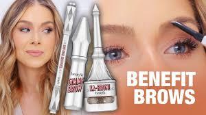 <b>BENEFIT BROWS</b> - Gimme Brow, Goof Proof + ka-BROW! REVIEW ...