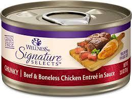 <b>Wellness CORE Signature</b> Selects Chunky Wet <b>Cat</b> Food (Pack of 12)