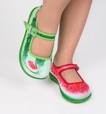Mini Chocolaticas® <b>Watermelon</b> Girls Mary Jane <b>Flat</b> – Hot ...
