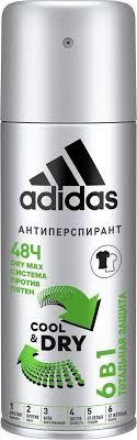Аdidas <b>6in1</b> Cool&Dry Anti-Perspirant <b>дезодорант</b> ...