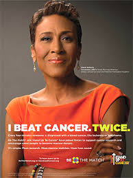 Bone marrow saved Robin Roberts's life – and now she's on a mission to help save other lives, too. - robin-roberts-300