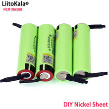 <b>Liitokala New Original</b> 18650 NCR18650B Rechargeable Li-ion ...
