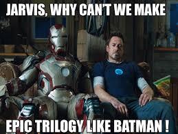 End of a Cultural Era: Superhero Movies Part Two – Iron Man 3 and ... via Relatably.com