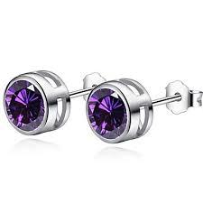 Hot Selling Women Earring Stud <b>Shiny CZ Zircon</b> Crystal Jewelry ...