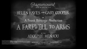 a farewell to arms uk blu ray review a farewell to arms 1932 uk bd 01