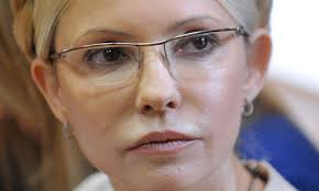 A lawyer for Ukraine's jailed former prime minister, Yulia Tymoshenko, says she has started a hunger strike after prison guards beat her. - Ukraines-former-prime-min-008