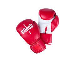 <b>Перчатки</b> Clinch Fight C133 <b>10oz</b> Red-White 357215 - Школьные ...