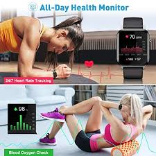 <b>Fitness Trackers</b> with Heart Rate Monitor, Smart Watch: Amazon.co ...