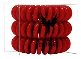 <b>Резинка для волос Hair</b> Bobbles (темно-красная) 3шт HH ...