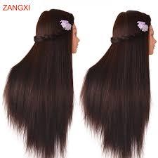 "No Makeup Female 28""Hair Head Training <b>Mannequins</b> For ..."