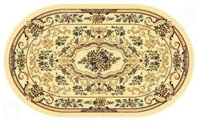 """Купить Ковер овальный """"Kamalak tekstil"""", 100x150 см (кремовый ..."""