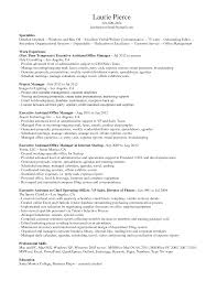 sample resume for administrative manager sample resume for administrative manager