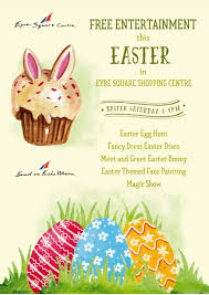 eyre square centre easter entertainment 2017
