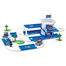 Игровой <b>набор Wader</b> Kid Cars 3D <b>Полиция</b> 53320: купить за ...