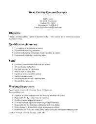 sample of resume for cashier sample of resume for cashier makemoney alex tk