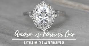 The Difference Between Amora Gems and <b>Forever One</b> Moissanite ...
