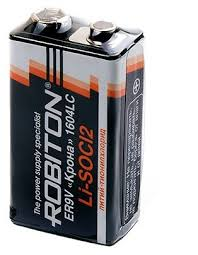 Батарейка <b>ROBITON</b> ER9V <b>Крона</b> 1604LC — купить по низкой ...