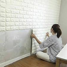 10pcs 3d wall sticker mosaic brick self adhesive waterproof paper for kitchen bathroom home diy ceramic tile stickers