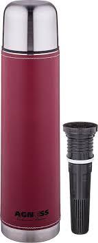<b>Термос Agness Рубин</b>, со съемным фильтром, 910-727, красный ...
