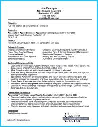 writing a concise auto technician resume how to write a resume auto mechanic resume cover letter