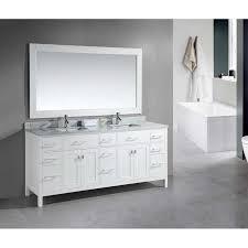 bathroom modern vanity designs double curvy set: design element london uquot double sink vanity set in white alternative view