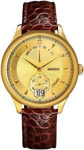 BERNY Top Luxury 18 K Gold Mens Watch Swiss ... - Amazon.com