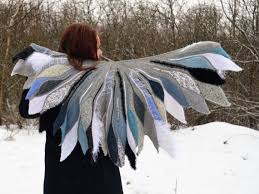 Unique and <b>graceful</b> gray scarf