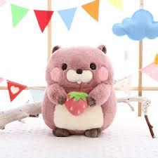 <b>Cute</b> Plush <b>Groundhog</b> Toys Soft Stuffed <b>Woodchuck</b> Doll Gifts for ...
