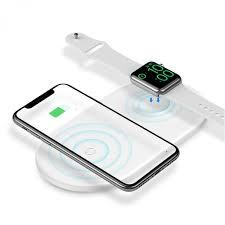Беспроводное <b>зарядное устройство Baseus Smart</b> 2 in 1