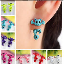 <b>New Arrival</b> Single Earrings <b>Creative</b> Animal <b>Cartoon</b> Cat Cat Kitten ...