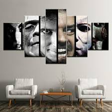 Horror <b>Movie</b> Scary Character <b>5 Pieces</b> canvas Print Wall Art Picture ...
