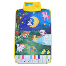 Baby <b>Piano Mats Music Carpets</b> Baby Animal Touch Play Game ...