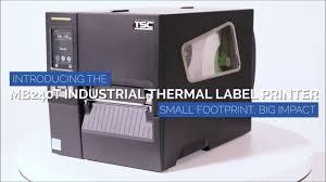 <b>TSC MB240T</b> Label Printer Overview AUS NZL - YouTube