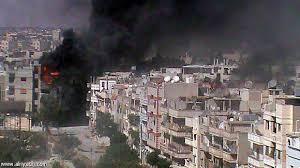 سوريا : مقتل 48 شخصا في غارات النظام على حمص