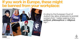 employers allowed to ban the hijab eu court muslim hijab news infographic ejc hijab ban ejc