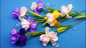<b>Irises</b> of ribbons.DIY/Flor del <b>iris</b> de las cintas/Ирисы из лент.МК ...