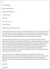 Sales Assistant Cover Letter   sales associate cover letter happytom co