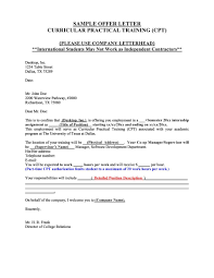 sample offer letter anuvrat info 44 fantastic offer letter templates employment counter offer job