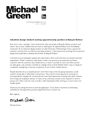 engineer cover letter design  seangarrette colettermichaelgreen sample cover letter industrial design sample cover letter industrial design