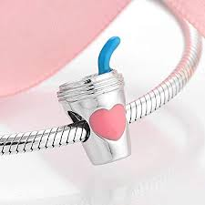 Craft Supplies & Tools <b>100</b>% Authentic <b>925 Sterling</b> Silver Pink ...