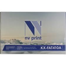 <b>Картридж NV-Print KX-FAT410A</b> Черный (Black) — купить, цена и ...