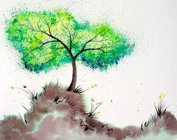 tree wall decor art youtube: bellas wishing tree splatter art tutorial crayola watercolors https wwwyoutube
