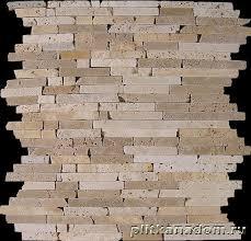 <b>Dune Stone</b> Mosaico Travertino Pencil <b>Мозаика</b> 26x26 купить