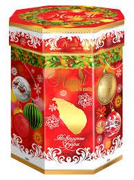 <b>Чай черный</b> цейлонский Monzil «<b>Новогодние</b> узоры» в жестяной ...